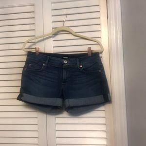 Hudson Jeans cuffed shorts 28